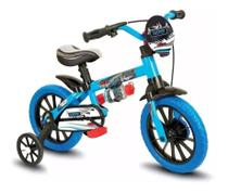 Bicicletinha Bicicleta Bike Infantil Nathor Aro12 Veloz -