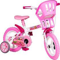 Bicicletinha Bicicleta Infantil Aro 12 Princesinhas Menina - Styll