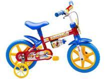 Bicicletinha Bicicleta Infantil Menino Aro 12 Fireman Nathor -