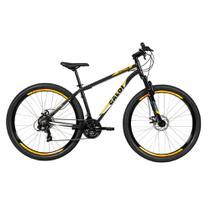 Biclicleta Mountain Bike Caloi Vulcan Aro 29 - Cinza -
