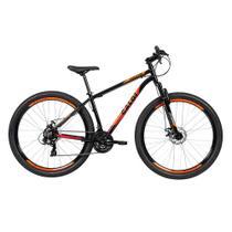 Biclicleta Mountain Bike Caloi Vulcan Aro 29 - Preta -