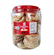 Bicoito Cookie Misto Amendoim/Gergelim Pote 420g- Kanazawa - Ichiban