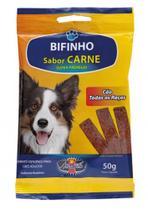 Bifinho Carne (5 unidades) Todas as raças 50g - Aromasil -