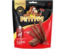 Bifinho para Cachorro Petitos Carne 500g -