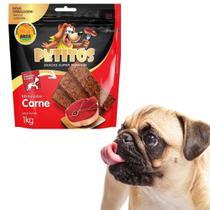 Bifinho Para Cães Todos Tamanhos Petitos  Pacote 1kg -