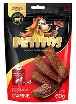 Bifinho petitos carne para cachorro 60g -