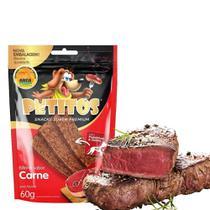 Bifinho Petitos - Snack Super Premium Para Cães - Sabor Carne - 60g -