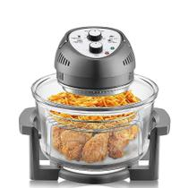 Big Boss - Oil-less Air Fryer, 15,5 Litros, 1300W, Easy Operation with Built in timer -Graphite 2249 -