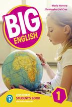 Big english 1 sb with online resources - american - 2nd ed - Pearson (importado)