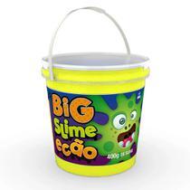 Big Pote de Slime Ecão - 400 Gr - Amarelo - DTC -