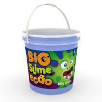 Big Pote de Slime Ecão - 400 Gr - Azul - DTC -