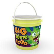 Big Pote de Slime Ecão - 400 Gr - Verde - DTC -
