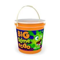 Big slime ecao laranja 400g 5113 - dtc -