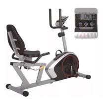 Bike ergométrica horizontal magnética classic semi profissional oneal tp9530  cd -