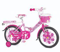 Bike Princesa Rosa Aro 16 Unitoys -