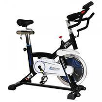 Bike Spinning Kikos F7i Visor Digital - Preta -