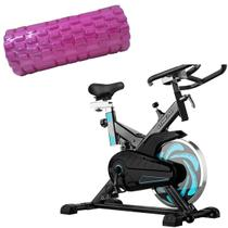Bike Spinning ONeal TP1000 Semi Profissional + Rolo Miofascial Texturizado