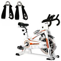 Bike Spinning ONeal TP1100 Semi Profissional + Hand Grip 10 Kg LiveUp -
