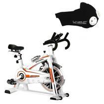 Bike Spinning ONeal TP1100 Semi Profissional + Máscara Respiratória de Treinamento LIVEUP -