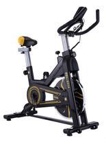 Bike Spinning Preta e Amarela Pel-2314 Pelegrin -