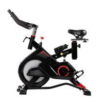 Bike Spinning Preta E Vermelha Pel-2312 - Pelegrin -