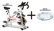 Bike Spinning TP1100 - Semi Profissional + Balança Digital - O'Neal -