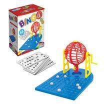 Bingo 48 Cartela Com Globo Giratório Brinquedo Infantil Novo - Kepler