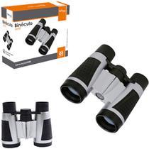 Binoculo alcance 6x30 brinquedo infantil cinza pequeno camping lazer - GIMP