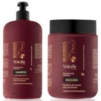 Bio Extratus Shitake Plus Kit Shampoo 1 L + Máscara 1kg - BioExtratus