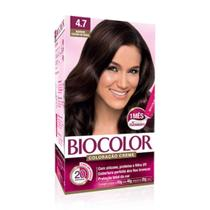 Biocolor Coloração Kit 4.7 Marrom Intenso -