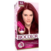 Biocolor Coloração Mini 6.6 Vermelho Intenso Vibrante -