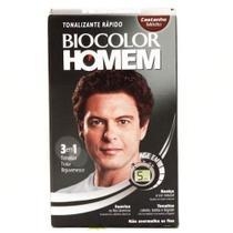 Biocolor Homem Tonalizante Castanho Médio (Kit C/06) -