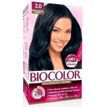 Biocolor Tinta Capilar Kit 2.0 Preto Azulado - Niasi
