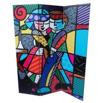 Biombo Cheek to Cheek - Romero Britto - Trevisan