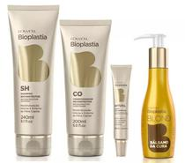 Bioplastia Shampoo 240ml + Condicionador 200ml + Ritual 25ml + Bálsamo da Cura 120ml - Lowell -