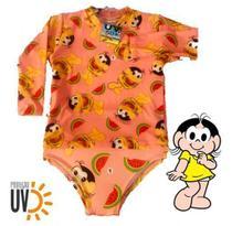Biquini Infantil + Blusa Proteção Solar Infantil Uv50 Magali - Anjo Da Mamãe
