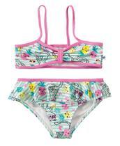 Biquini Infantil Malwee Verão Praia Menina Proteção UV 50 -