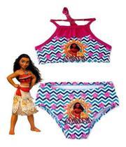 Biquini Infantil Moana Maui Moda Praia Verão Com Proteção Uv - Anjo Da Mamãe