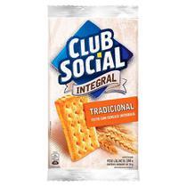 Biscoito Club Social Integral Tradicional com 6 Unidades de 24g cada -