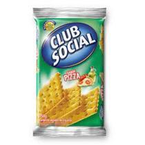 Biscoito Club Social Pizza 23,5g c/6 - Nabisco -