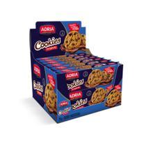 Biscoito Cookie Tradicional Gotas 60g c/12 - Adria -
