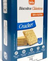 Biscoito Cracker Sem glúten Belfar 104g - Olvebra