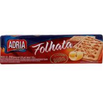 Biscoito Cream Cracker Folhata 200g 1 UN Adria -
