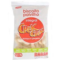 Biscoito de Polvilho Integral Linhaça Gergelim Crek Crek 50g - Crekcrek