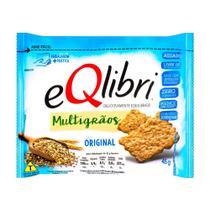 Biscoito EQlibri Multigrãos Sabor Original 45g -