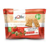 Biscoito Eqlibri Multigraos Tomate Cebolinha 50g - Elma Chips -