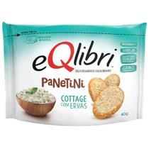 Biscoito Eqlibri Panetini Cottage e Ervas 40g - Elma Chips -