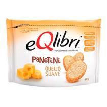 Biscoito EQlibri Panetini Sabor Queijo Suave com 40g -