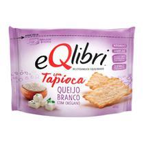Biscoito EQlibri Tapioca Sabor Queijo Branco com Orégano 45g -
