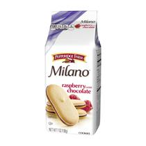 Biscoito milano raspberry chocolate 198g -